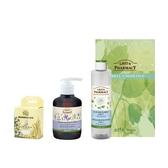 【Green Pharmacy草本肌曜】四效潔膚水250ml 任1+溫和潔顏露270ml 任1 贈 輕柔化妝棉+GP大禮盒