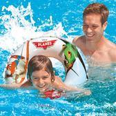 新款INTEX小孩兒童充氣游泳圈寶寶救生圈嬰幼兒腋下圈泳浮圈【快速出貨限時八折】