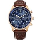 CITIZEN 星辰 光動能計時腕錶 CA4503-18L