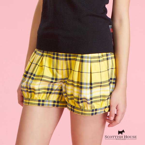 經典格紋燈籠褲 Scottish House【AC2209】