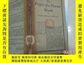 二手書博民逛書店THE罕見PROJECT OF A PLANNED WORLD[
