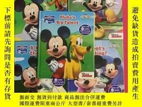 二手書博民逛書店Disney罕見Mickey Mouse Clubhouse(精裝5冊合售)Y178777 Junior Ki