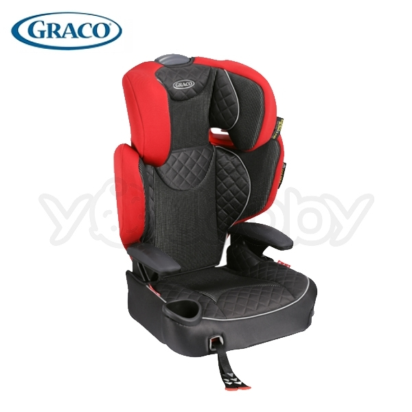 GRACO 幼兒成長型輔助汽車安全座椅/汽座 AFFIX (紅桃皇后)