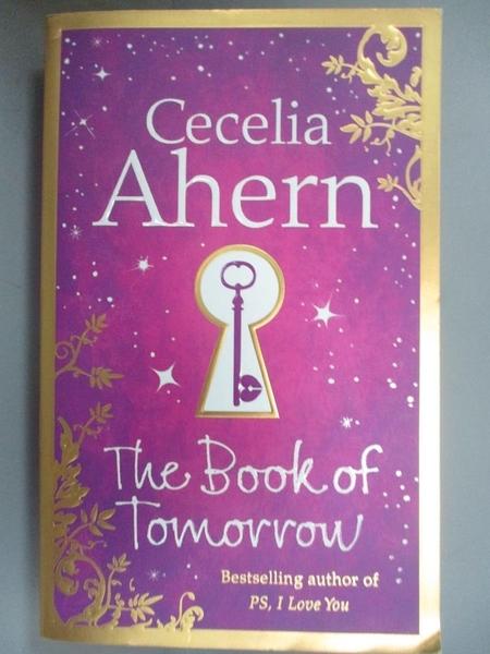【書寶二手書T4/原文小說_LIK】The Book of Tomorrow_Ccelia Ahern