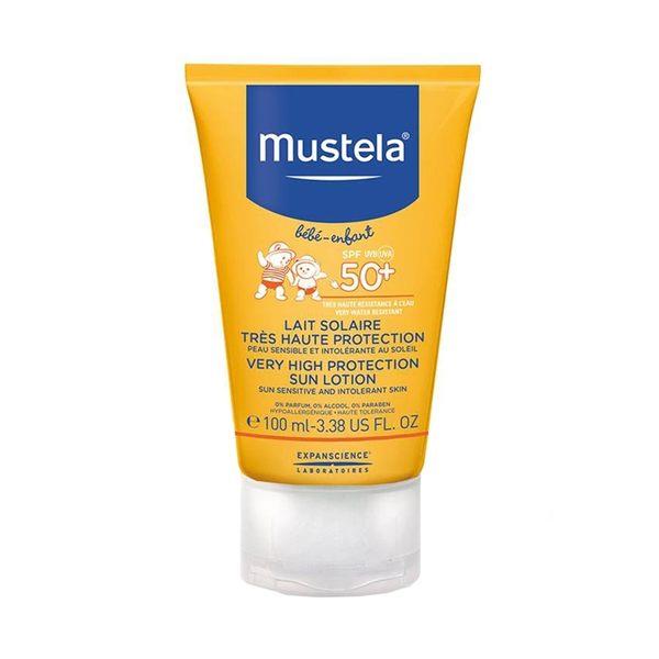 慕之恬廊Mustela 高效性兒童防曬乳SPF50+ (大) 100ml【原廠公司貨】 ◆86小舖 ◆