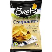 法國Bret s 頂級海鹽厚切洋芋片125g