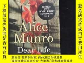 二手書博民逛書店英文原版罕見Alice Munro Dear LifeY2544