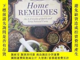二手書博民逛書店Home罕見Remedies: An A-Z Guide of