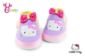 Hello kitty 學步鞋 凱蒂貓 透氣 軟底 MIT寶寶鞋G7970#紫色◆OSOME奧森鞋業