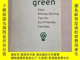二手書博民逛書店simply罕見green:Easy,Money-Saving Tips for Eco-Friendly Fam