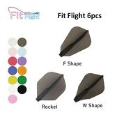 【Fit Flight】Shape/Standard/S Slim 素色 6pcs 鏢翼 DARTS