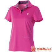 Wildland 荒野 0A51613-09-桃紅 女 咖啡紗抗菌抗UV上衣 抗紫外線/涼爽散熱/吸濕快乾/登山旅遊