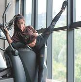 高彈力緊身健身褲女速乾訓練跑步運動瑜伽長褲 童趣潮品