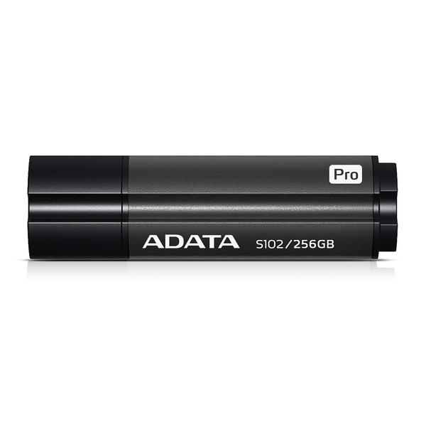 威剛 S102 pro 256GB USB3.1行動碟 (灰) 高速傳輸