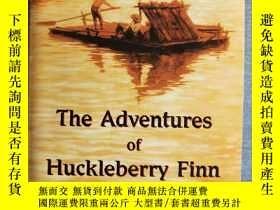 二手書博民逛書店《The罕見Adventures of Huckleberry