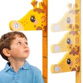 兒童身高牆貼 音樂磁吸式立體卡通長頸鹿測量尺身高貼紙-JoyBaby