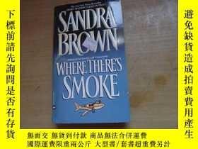 二手書博民逛書店WHERE罕見THERE S SMOKEY18429 Sand
