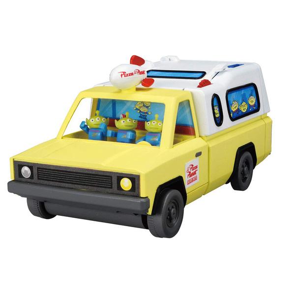 迪士尼小汽車 玩總披薩星球貨櫃收納車_DS15025