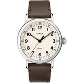 TIMEX 時光白皮書經典腕錶-TW2T20700