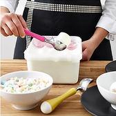 加厚雪糕勺 不銹鋼冰淇淋勺子 冷飲冰激凌挖球器創意水果可愛烘焙