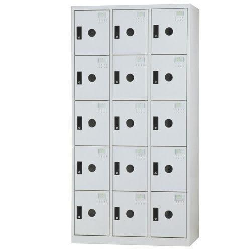 【時尚屋】DF多用途3x6尺鋼製15格置物櫃(免組裝)(免運費)(台灣製)
