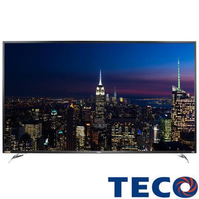 《活動促銷+送壁掛架安裝》TECO東元 65吋TL65U1TRE 真4K 60P聯網液晶電視(顯示器+視訊盒)
