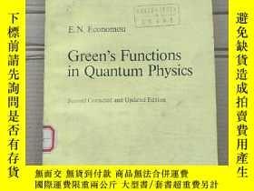 二手書博民逛書店green s罕見functions in quantum physics(P1669)Y173412