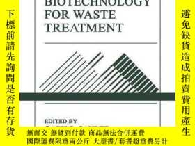 二手書博民逛書店Environmental罕見Biotechnology For Waste Treatment (environ