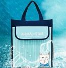 防水袋 小學生補習袋兒童補課包學習袋作業袋美術袋A3防水8K手提袋拎書袋【快速出貨八折鉅惠】