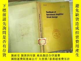 二手書博民逛書店Handbook罕見of Operational Amplifi