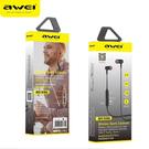AWEI B930BL 磁吸運動藍芽耳機 運動耳機 無線 防脫落 智能語音報號 iPhoneXS/8 [ WiNi ]