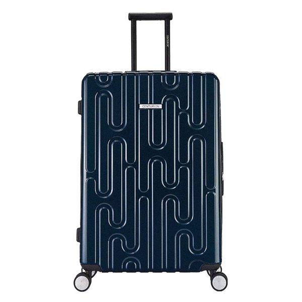 【CENTURION百夫長】拉鍊款26吋U_H_GVA日內瓦藍行李箱