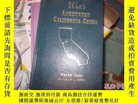 二手書博民逛書店West罕見s ANNOTATED CALIFORNIA COD
