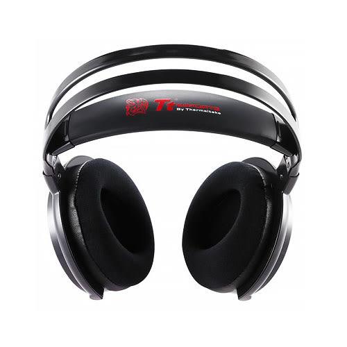 Tt eSports 曜越 震撼者 颶風版 鑽石黑 SHOCK Spin HD 虛擬7.1立體聲道 電競 耳機