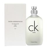 【福利品】Calvin Klein 卡文克萊 CK one中性淡香水(TESTER) 200ml Vivo薇朵