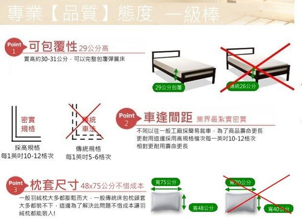 玫瑰粉紅、100% 精梳棉 【床包6X6.2尺/枕套X2/雙人被套(無鋪棉)】4件組 台灣製