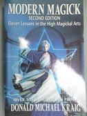 【書寶二手書T1/宗教_YEH】Modern Magick: Eleven Lessons in the…