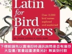 二手書博民逛書店Latin罕見For Bird LoversY255174 Roger Lederer Timber Pres