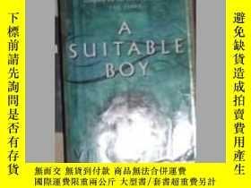 二手書博民逛書店A罕見Suitable Boy by Vikram Seth 原