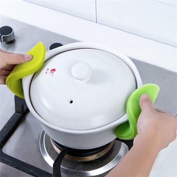 【買1送1】神奇萬用矽膠洗碗刷 菜瓜布 不傷碗盤 韓國熱銷