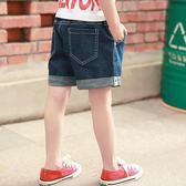 雙十一狂歡購 童裝男童牛仔短褲兒童褲子寬鬆中大童韓版潮夏裝熱褲三分褲沙灘褲