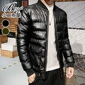 棉皮外套 率性街頭保暖騎車大尺碼軍裝夾克(2色) 現+預【NZ780110】
