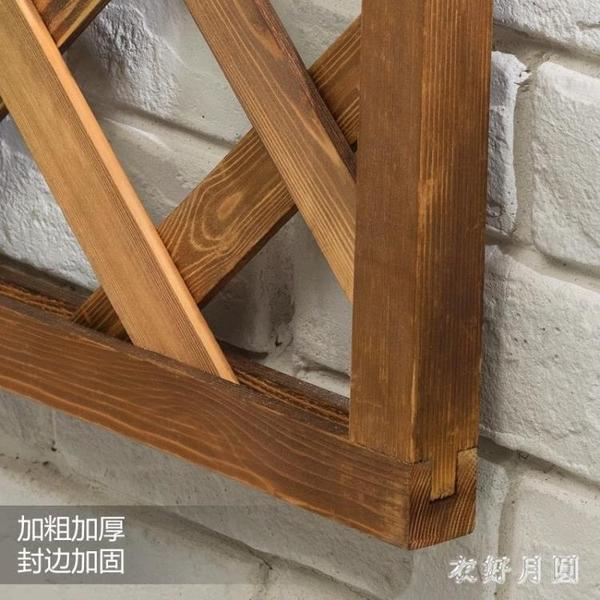 實木花架子多層落地式多肉陽臺置物裝飾客廳綠蘿盆室內 FF4668【衣好月圓】