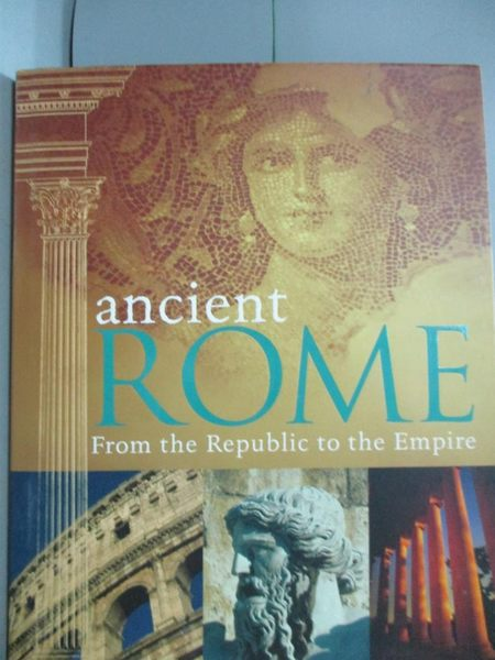 【書寶二手書T5/歷史_ZEF】Ancient Rome_Hill, Duncan