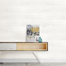 防水貼紙 白色木紋壁貼 客廳壁貼 厨房壁貼 美國製