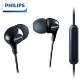 PHILIPS飛利浦 SHE3555BK/00入耳式耳麥-黑色