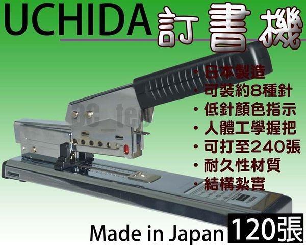 [釘書機 訂書機 UCHIDA NO.1150N 可釘120張] 日本製造 Made in Japan 多功能 23/15 ~非KW Rapid MAX SDI