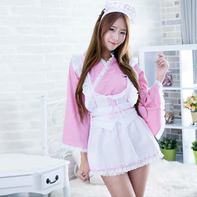 【預購】甜美粉系女僕套裝組 情趣內衣 角色扮演 情人節 F72757