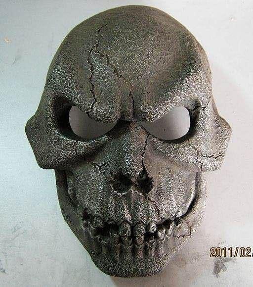 【發現。好貨】(超值珍藏版)刺陵主題面具 樹脂工藝品 刀郎面具頭盔 骷髏面具