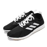 【五折特賣】adidas 慢跑鞋 EPM Run W 黑 白 女鞋 針織鞋面 膠底 基本款 運動鞋 【ACS】 BD7089